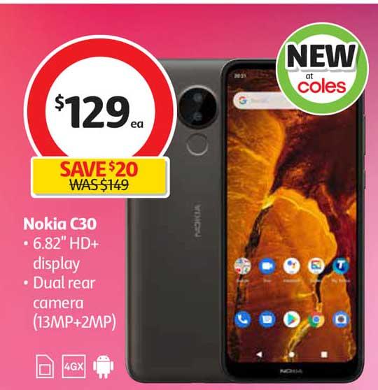 Coles Nokia C30