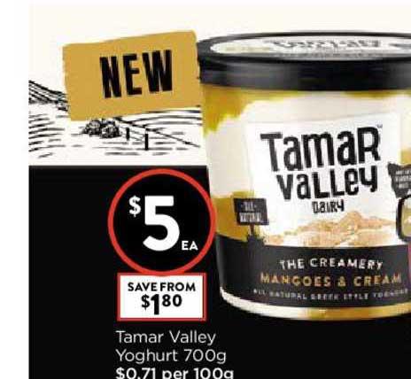 FoodWorks Tamar Valley Yoghurt