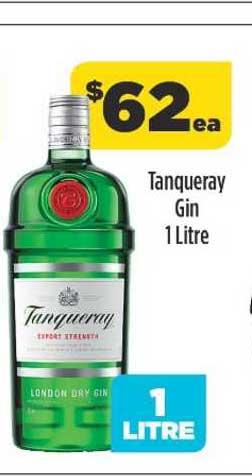 Liquorland Tanqueray Gin 1 Litre