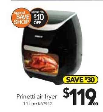 Cheap As Chips Prinetti Air Fryer