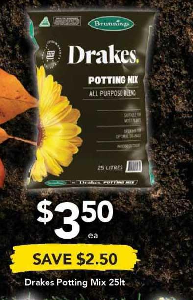 Drakes Drakes Potting Mix 25lt