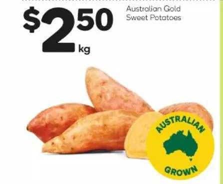 Woolworths Australian Gold Sweet Potatoes