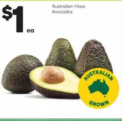 Woolworths Australian Hass Avocados