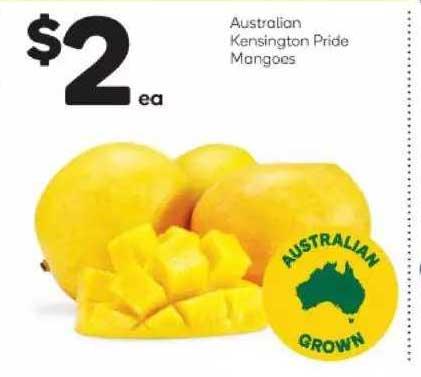 Woolworths Australian Kensington Pride Mangoes