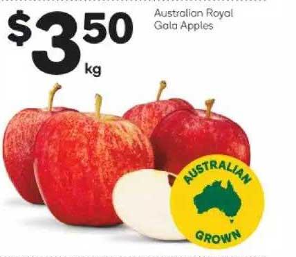 Woolworths Australian Royal Gala Apples