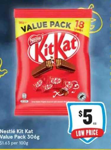 IGA Nestlé Kit Kat Value Pack