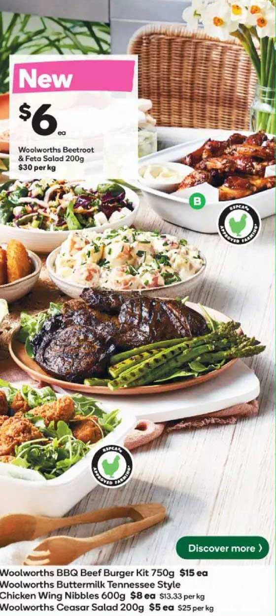Woolworths Woolworths Beetroot & Feto Salad
