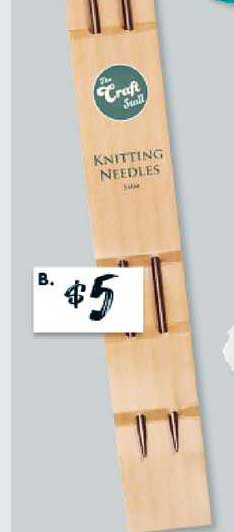 The Reject Shop Knitting Needles