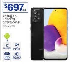 Officeworks Galaxy A72 Unlocked Smartphone