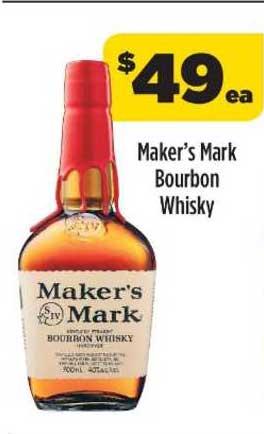 Liquorland Maker's Mark Bourbon Whisky