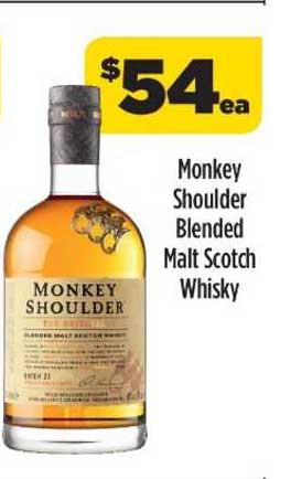 Liquorland Monkey Shoulder Blended Malt Scotch Whisky