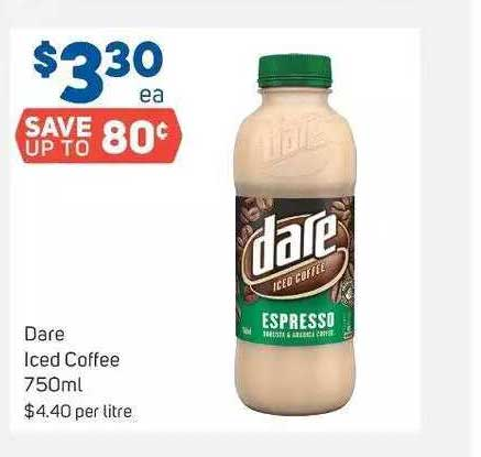 Foodland Dare Iced Coffee 750ml