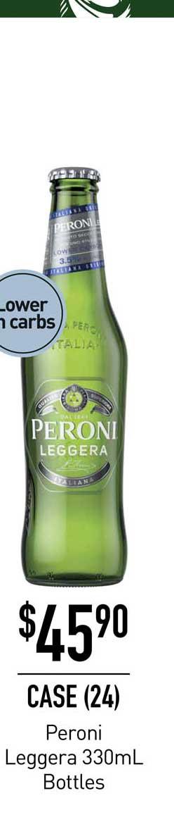 Dan Murphy's Peroni Leggera 330mL Bottles
