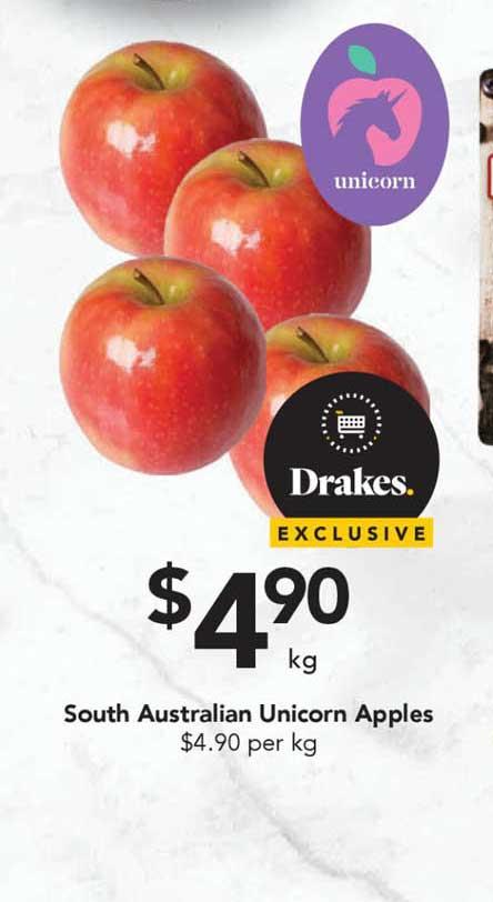 Drakes South Australian Unicorn Apples