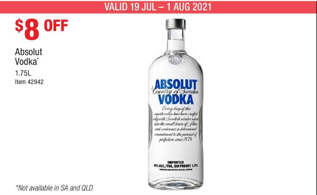 Costco Absolut Vodka