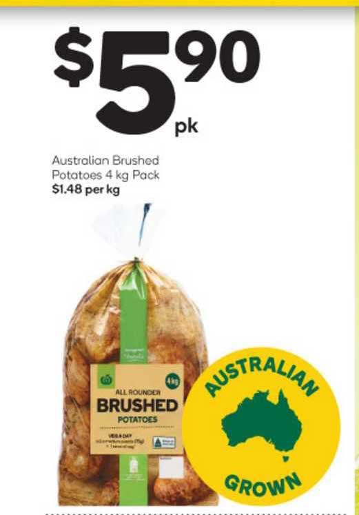 Woolworths Australian Brushed Potatoes