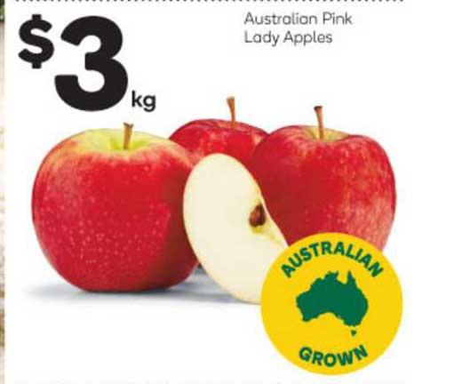 Woolworths Australian Pink Lady Apples