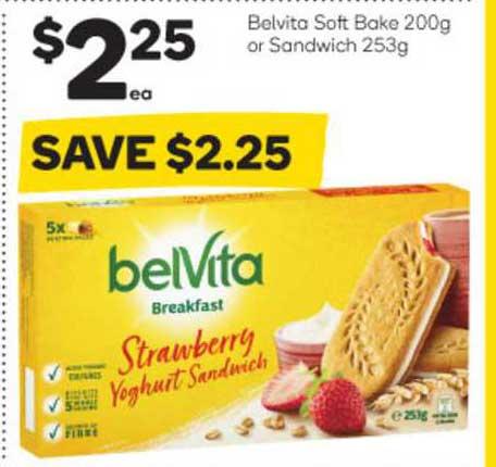 Woolworths Belvita Soft Bake Or Sandwich