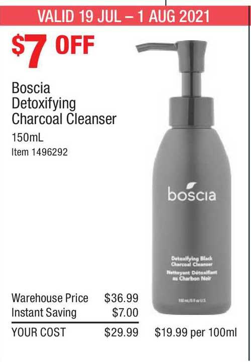 Costco Boscla Detoxifying Charcoal Cleanser