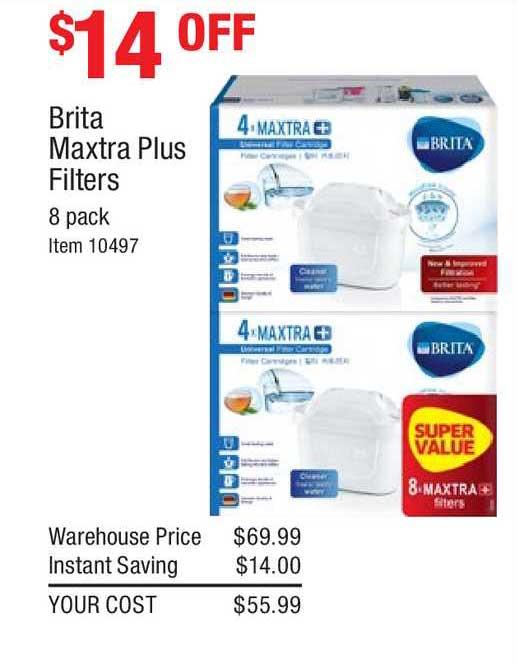 Costco Brita Maxtra Plus Filters