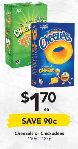 Drakes Cheezels Or Chickadees