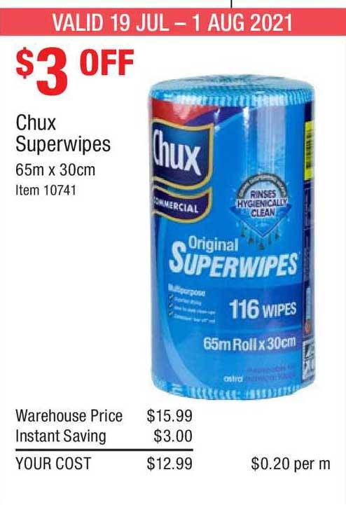 Costco Chux Superwipes
