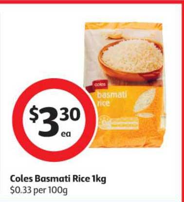 Coles Coles Basmati Rice