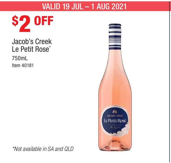 Costco Jacob's Creek Le Petit Rose