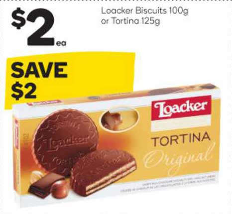 Woolworths Loacker Biscuits Or Tortina