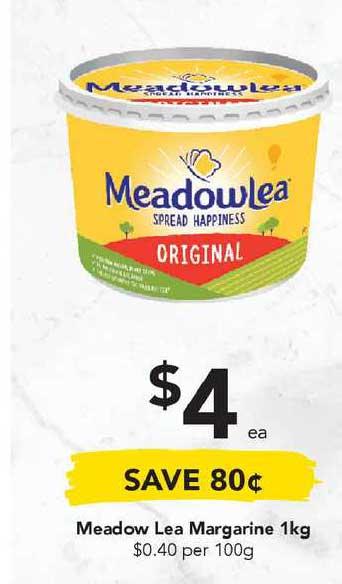Drakes Meadow Lea Margarine 1Kg