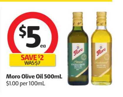 Coles Moro Olive Oil