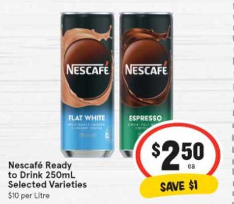 IGA Nescafé Ready To Drink 250mL
