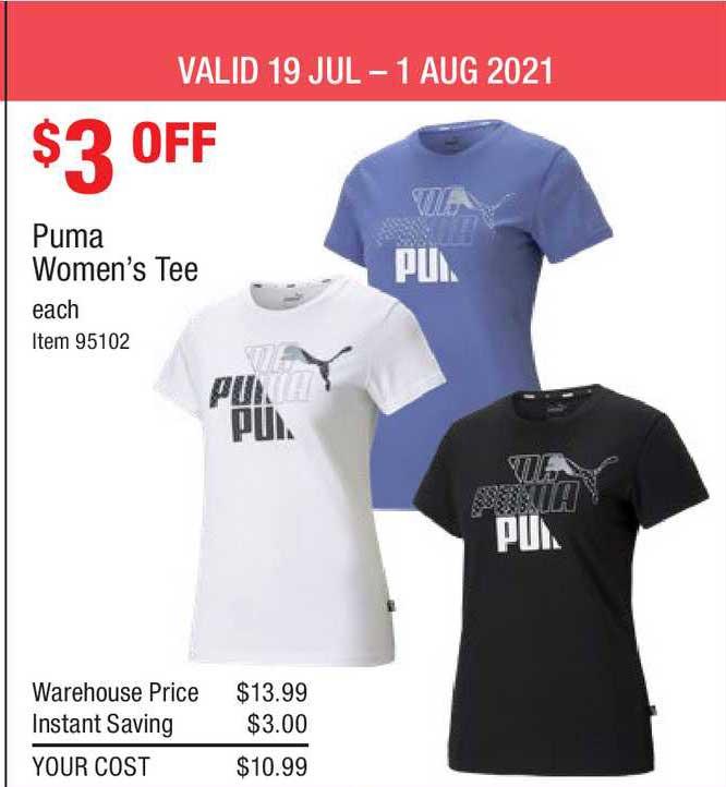 Costco Puma Women's Tee