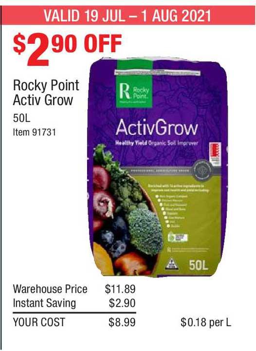Costco Rocky Point Activ Grow