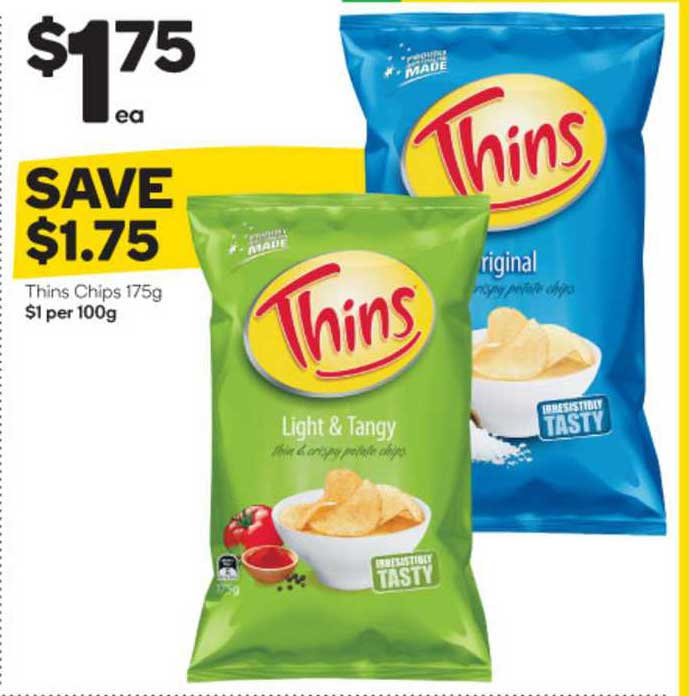 Woolworths Thins Chips