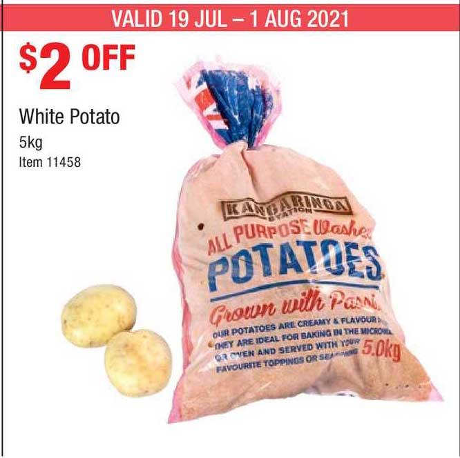 Costco White Potato