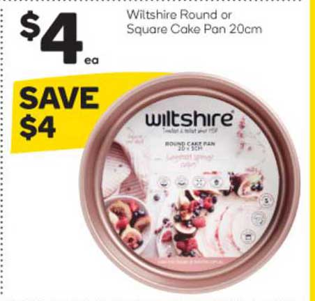 Woolworths Wiltshire Round Or Square Cake Pan