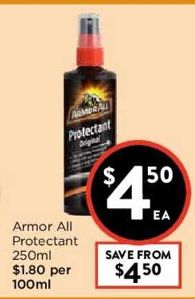 FoodWorks Armor All Protectant 250ml