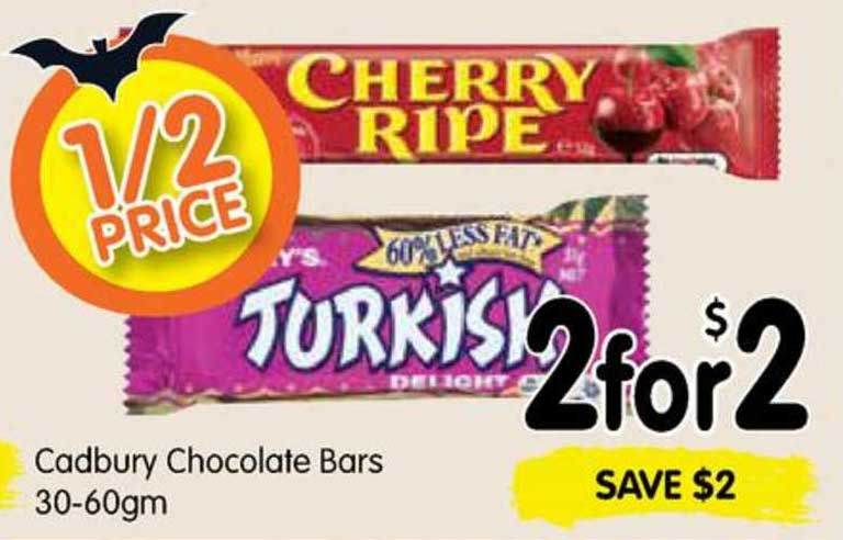 SPAR Cadbury Chocolate Bars 30-60gm