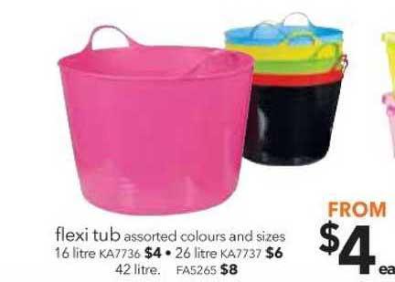 Cheap As Chips Flexi Tub