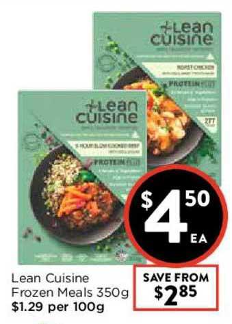FoodWorks Lean Cuisine Frozen Meals 350g