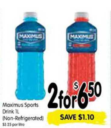 SPAR Maximus Sports Drink 1L