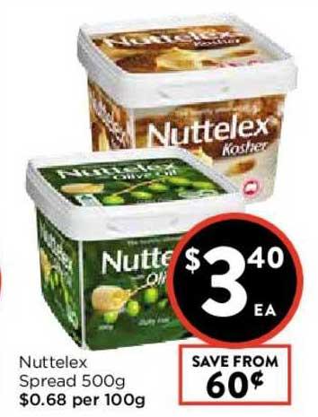 FoodWorks Nuttelex Spread 500g