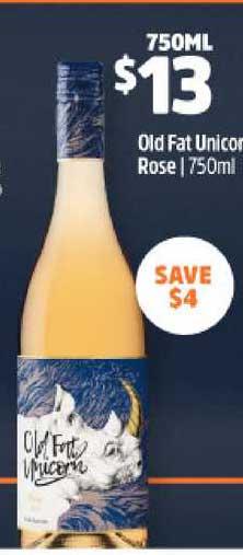 BWS Old Fat Unicorn Rose 750ml