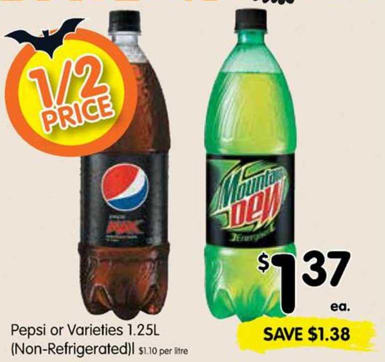 SPAR Pepsi Or Varieties 1.25L