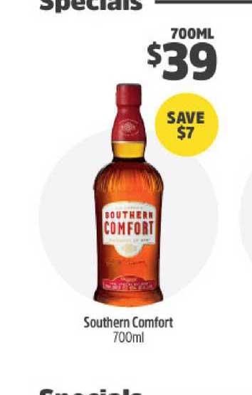 BWS Southern Comfort 700ml