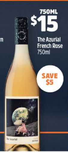 BWS The Azurial French Rose 750ml