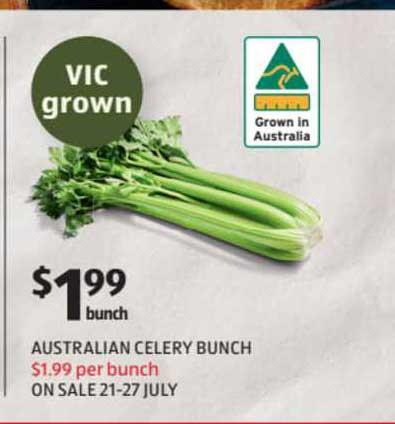 ALDI Australian Celery Bunch