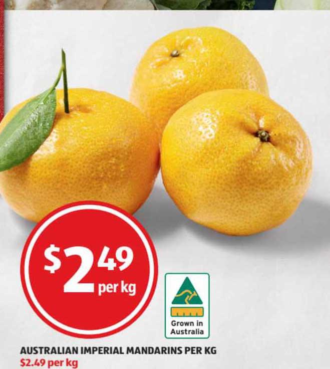 ALDI Australian Imperial Mandarins