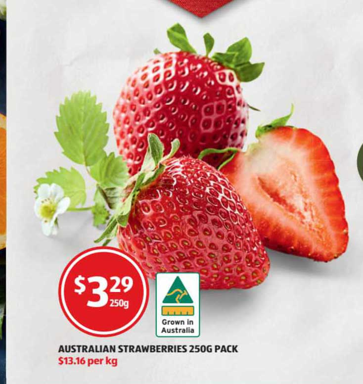 ALDI Australian Strawberries 250g